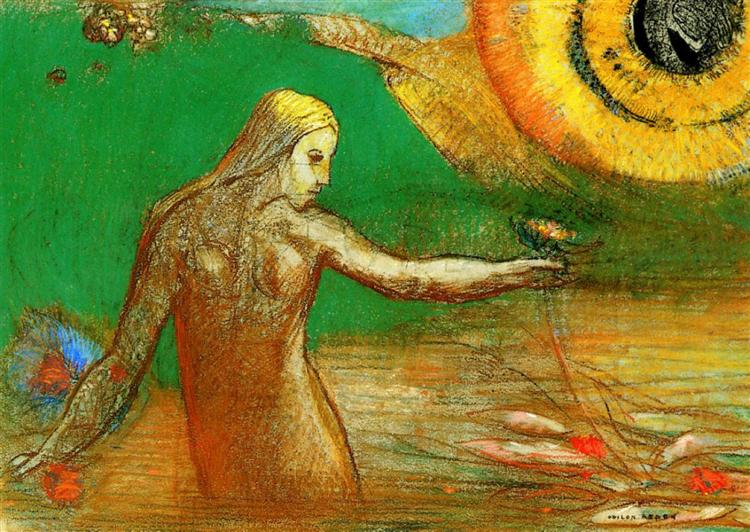 Flower of Blood, 1895 - Odilon Redon