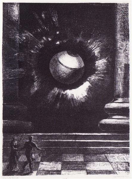 Vision, 1879 - Odilon Redon