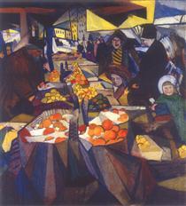 Sennoy market. Kiev. - Oleksandr Bogomazov
