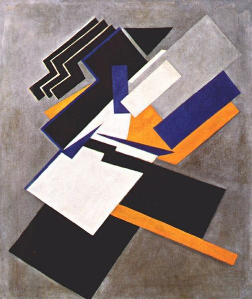 Non-Objective Composition (Suprematism), 1916 - Olga Rozanova