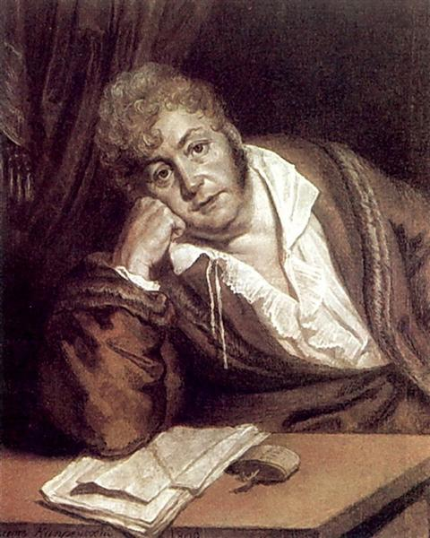 Portrait of A. Davydov, 1809 - Orest Kiprensky