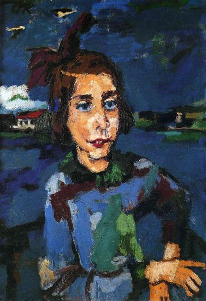 Gitta Wallerstein, 1921 - Oskar Kokoschka