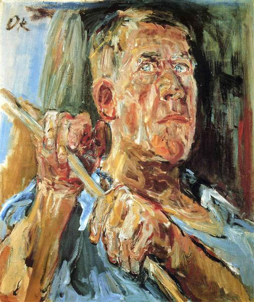 Self-portrait (Fiesole), 1948 - Oskar Kokoschka