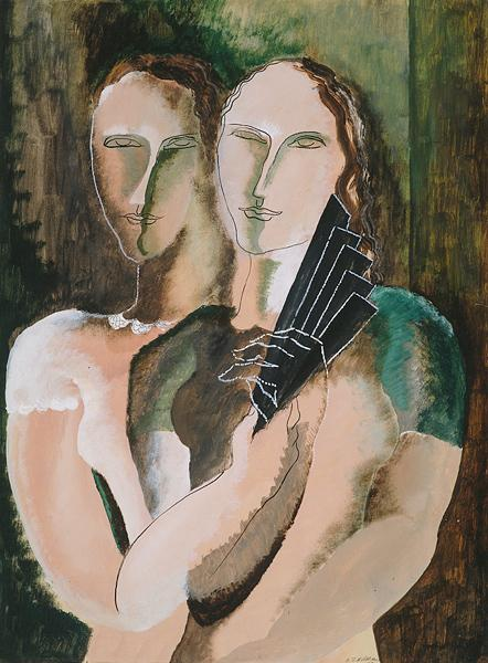Couple to the range - Ossip Zadkine