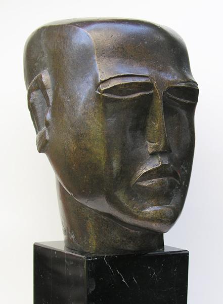 Human head, 1923 - Ossip Zadkine