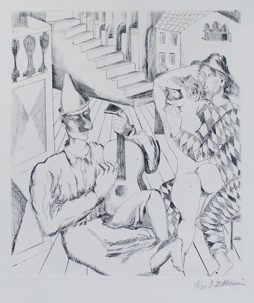Masquerade, 1928 - Ossip Zadkine