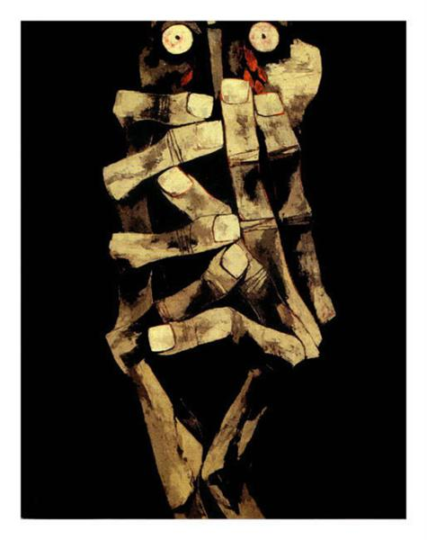 Tears of Blood - Oswaldo Guayasamin
