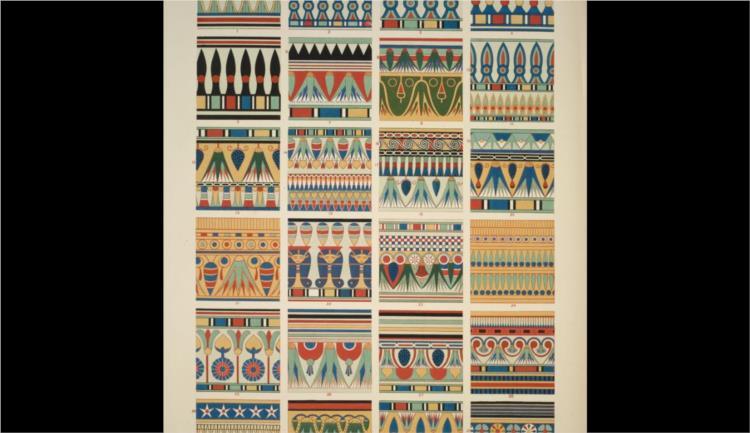 Egyptian no. 4 - Owen Jones