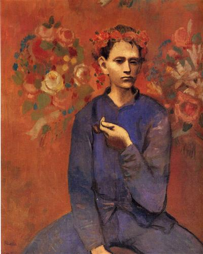 A boy with pipe - Pablo Picasso