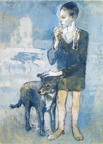 Boy with a Dog, 1905 - Pablo Picasso