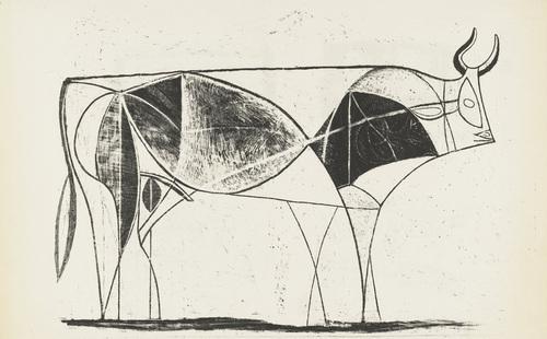 Bull (plate VIII), 1946 - Pablo Picasso