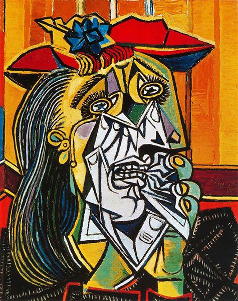 Weeping Woman, 1937 - Pablo Picasso