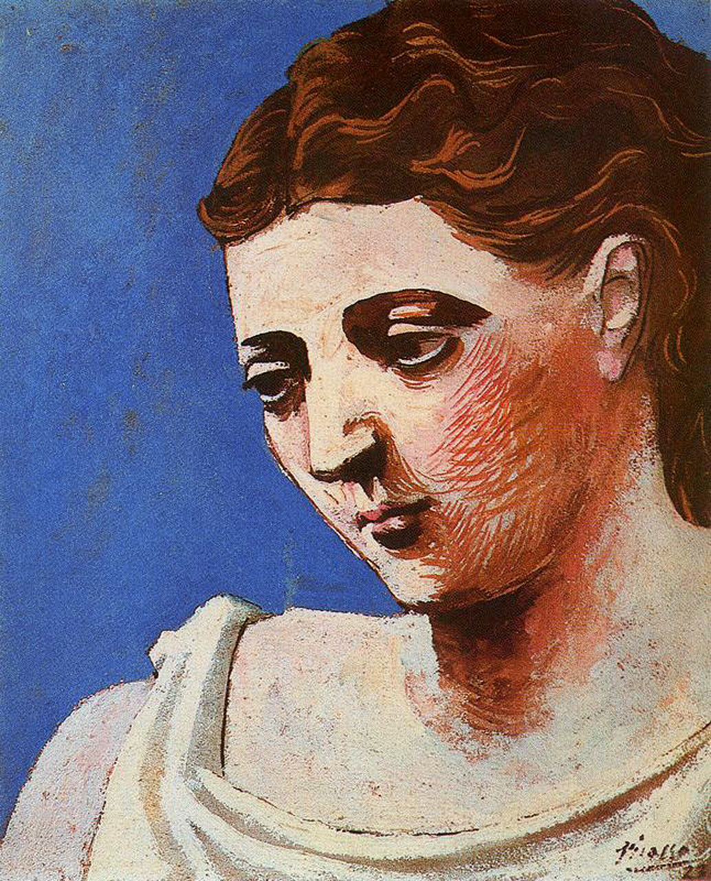 Head of a woman, 1923