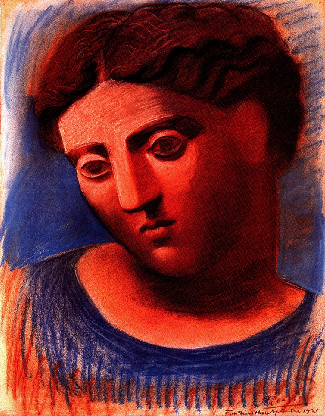 Head of woman, 1921