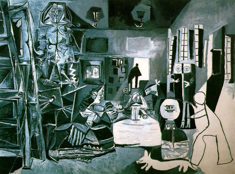 Las Meninas (Velazquez), 1957 - Pablo Picasso