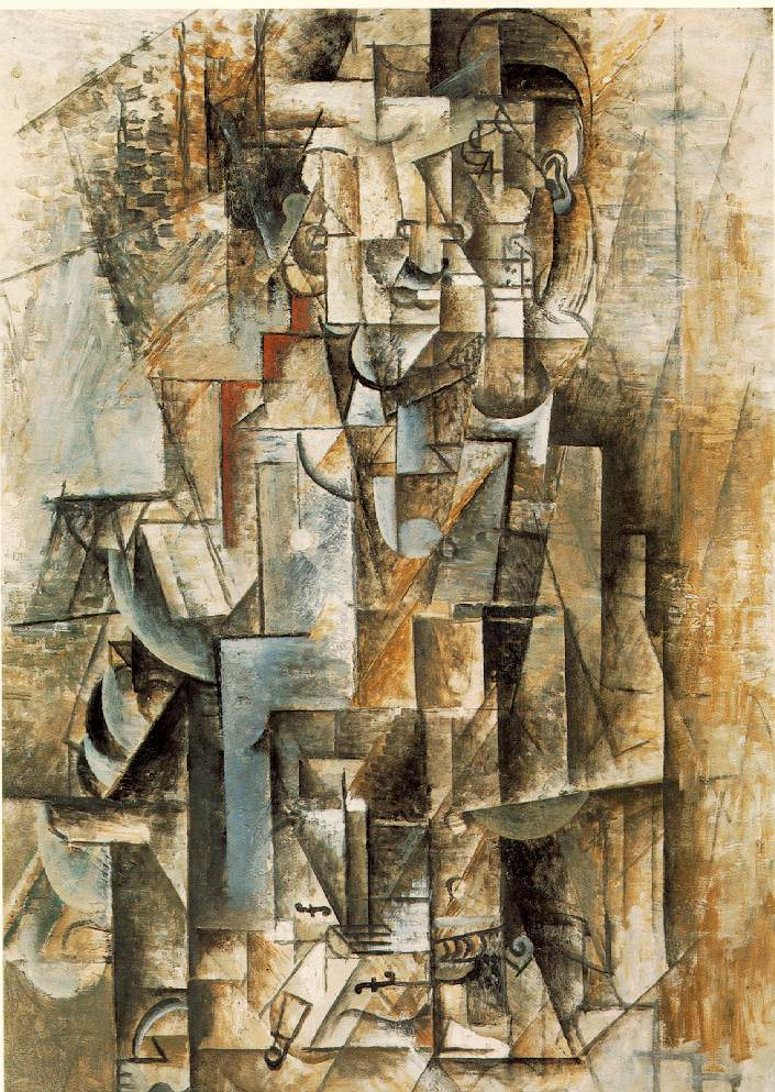man with guitar 1912 pablo picasso. Black Bedroom Furniture Sets. Home Design Ideas