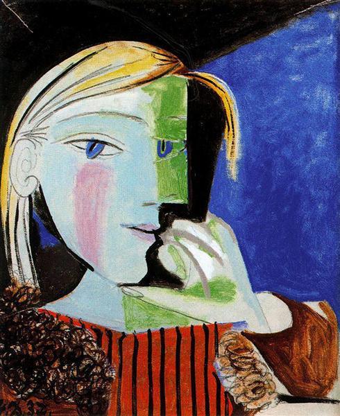 Portrait of Marie-Thérèse Walter, 1937 - Pablo Picasso
