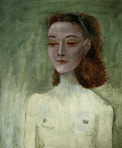 Portrait of Nusch Éluard - Pablo Picasso