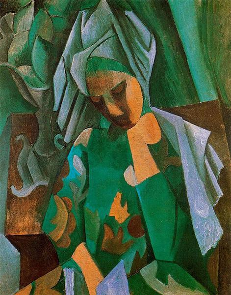 Queen Isabella, 1908 - Pablo Picasso