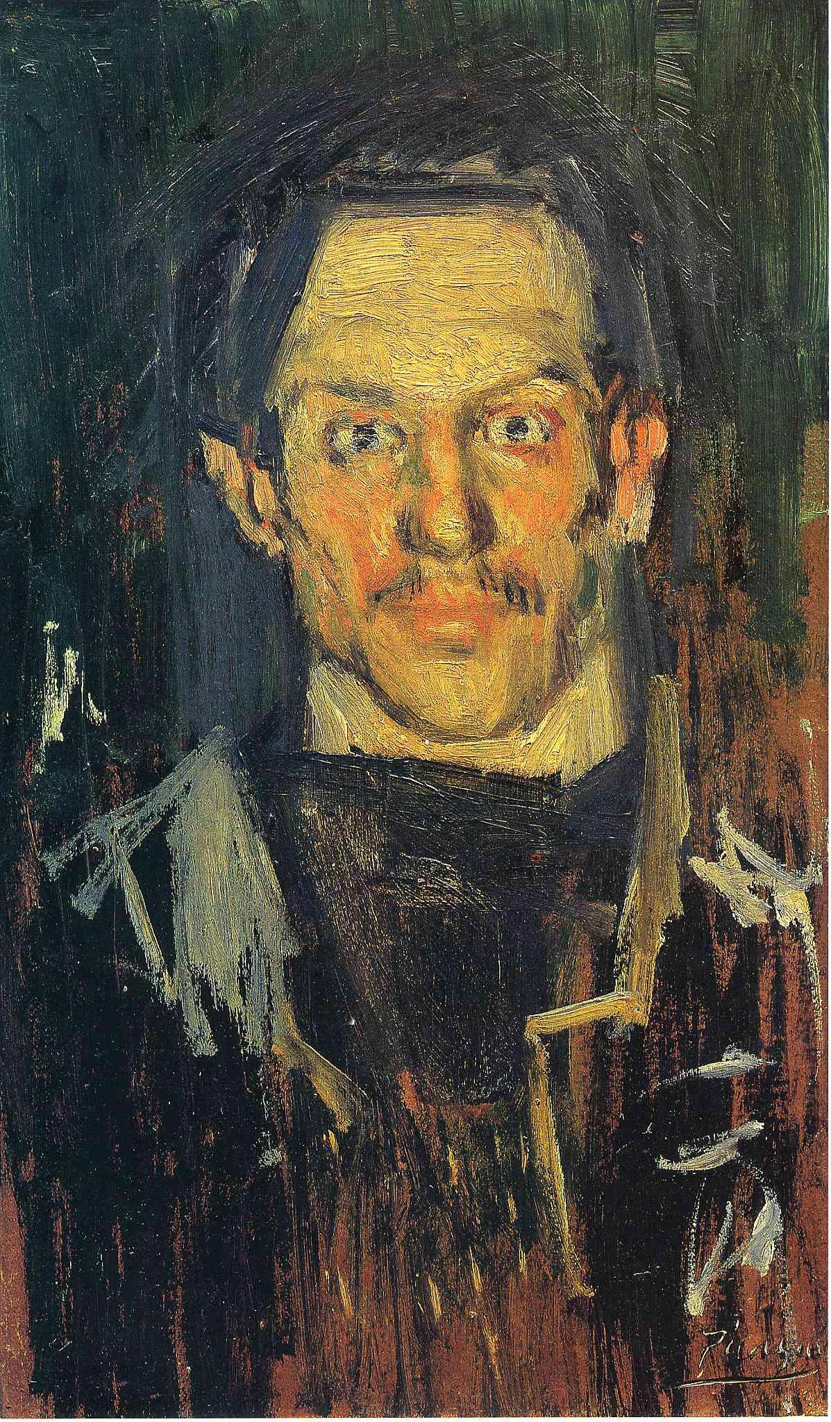 Self-Portrait - Pablo Picasso - WikiArt.org - encyclopedia ...