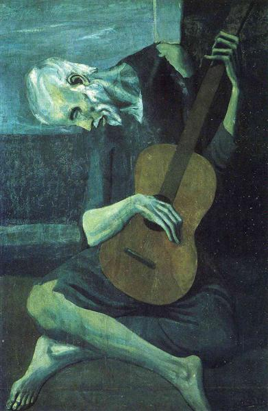 The old blind guitarist, 1903 - Pablo Picasso