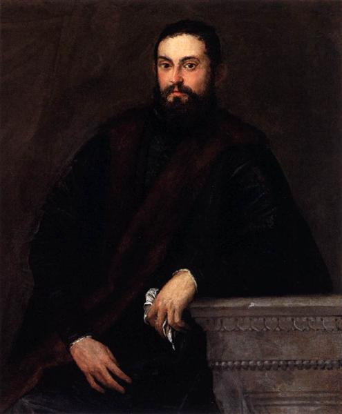 Gentleman in Black, c.1560 - Paolo Veronese