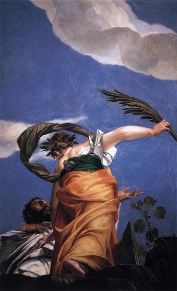 The Triumph of Virtue over Vice, 1554 - 1556 - Paolo Veronese