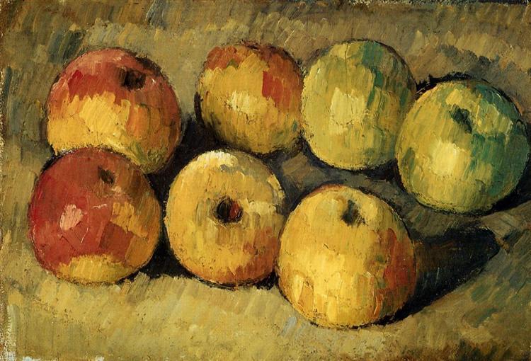 Apples, 1878 - Paul Cezanne