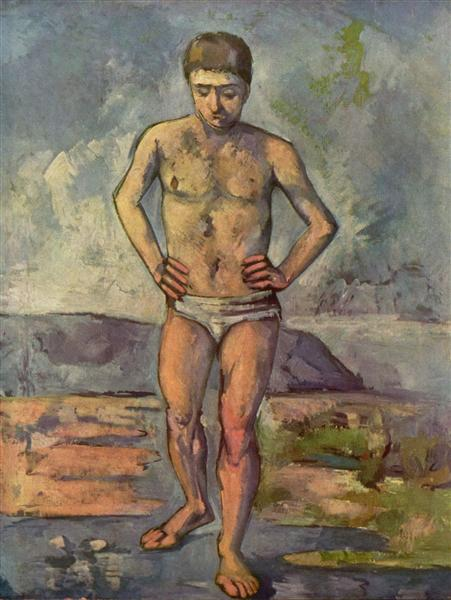 Bather, 1887 - Paul Cezanne