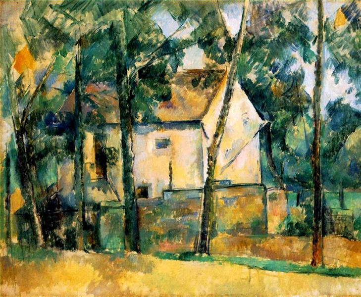 House and Trees, 1894 - Paul Cezanne