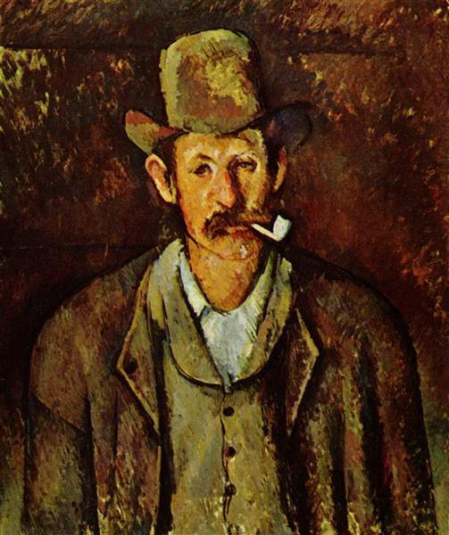 Man with a Pipe, 1892 - Paul Cezanne