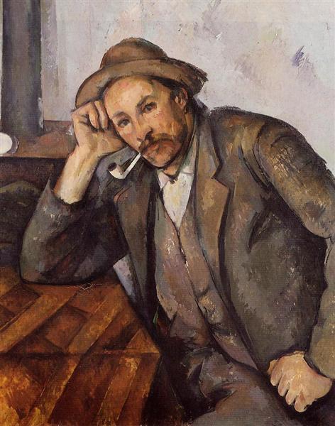 Smoker, 1892 - Поль Сезанн