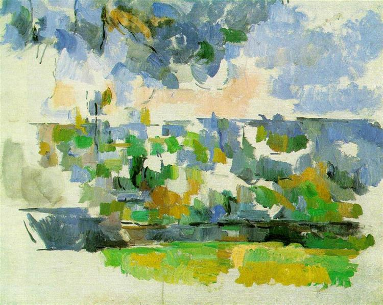 The Garden at Les Lauves, 1906 - Paul Cezanne