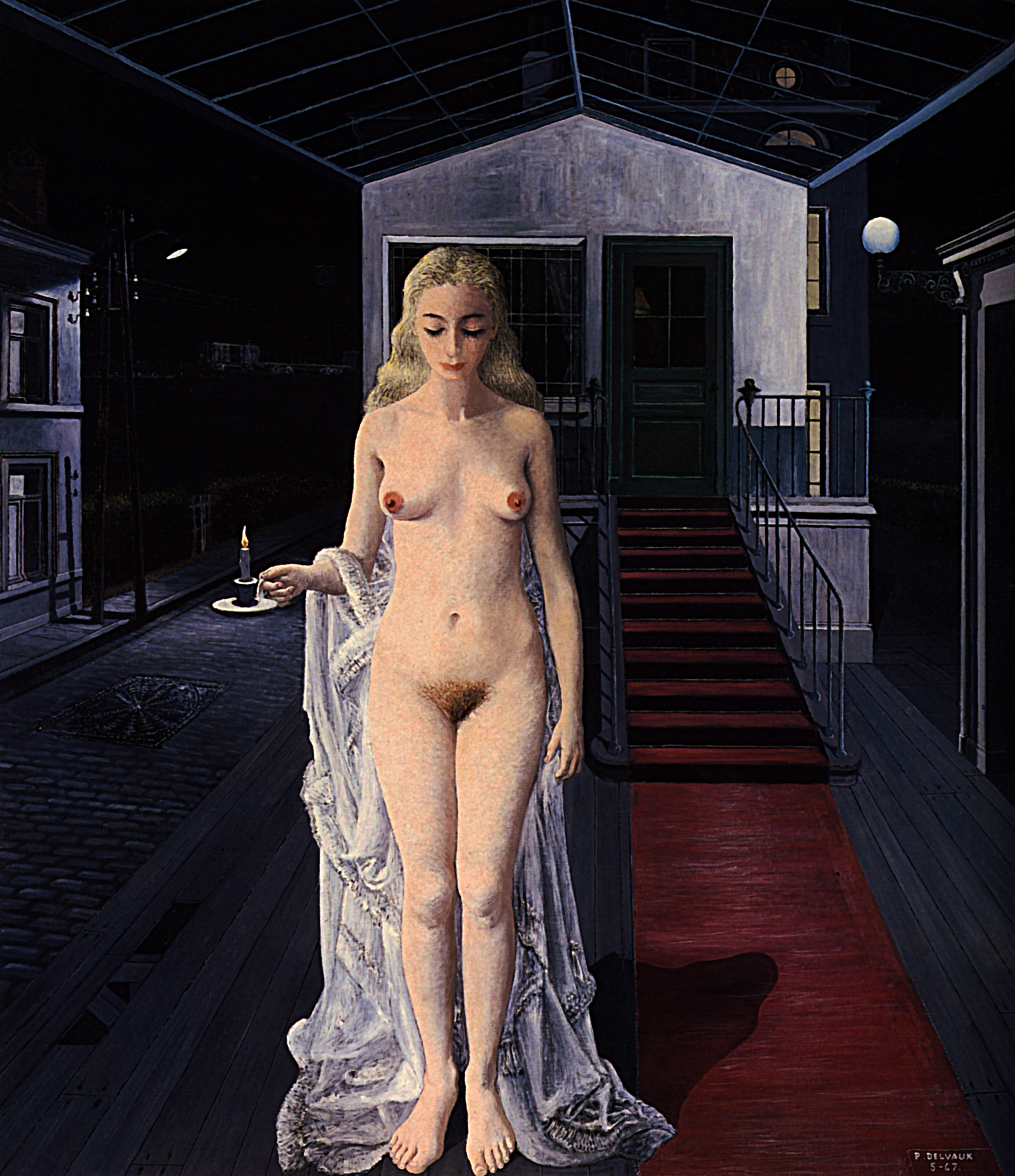 Paul Delvaux Gallery Chrysis Paul Delvaux