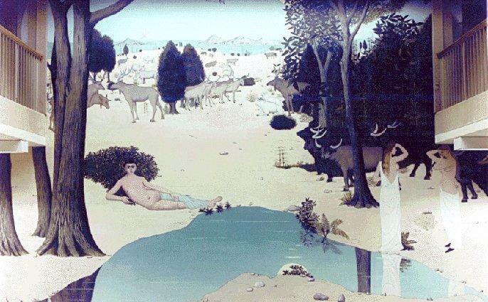 Genesis, 1960 - Paul Delvaux