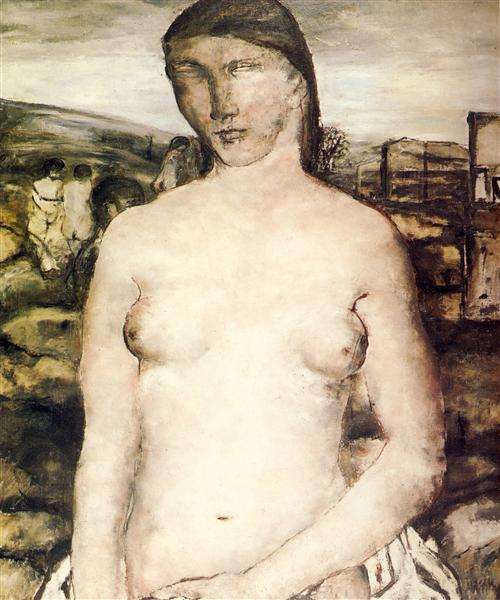 Large Nude Pink, 1929 - Paul Delvaux