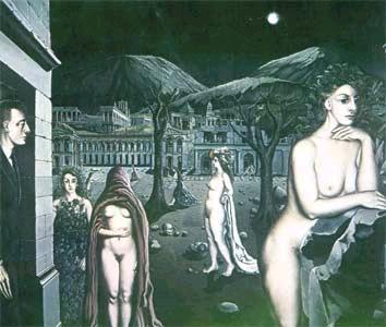 Nightgarden - Paul Delvaux