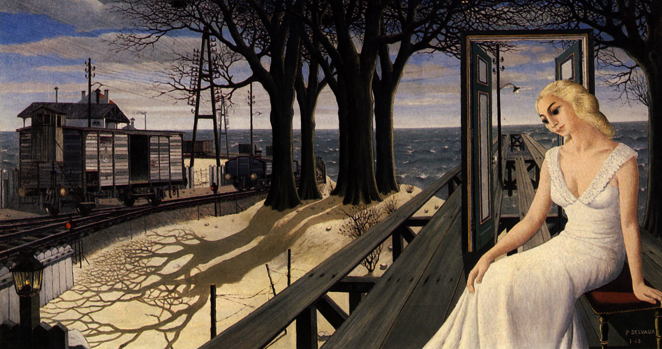 Paul Delvaux Gallery Shadows Paul Delvaux