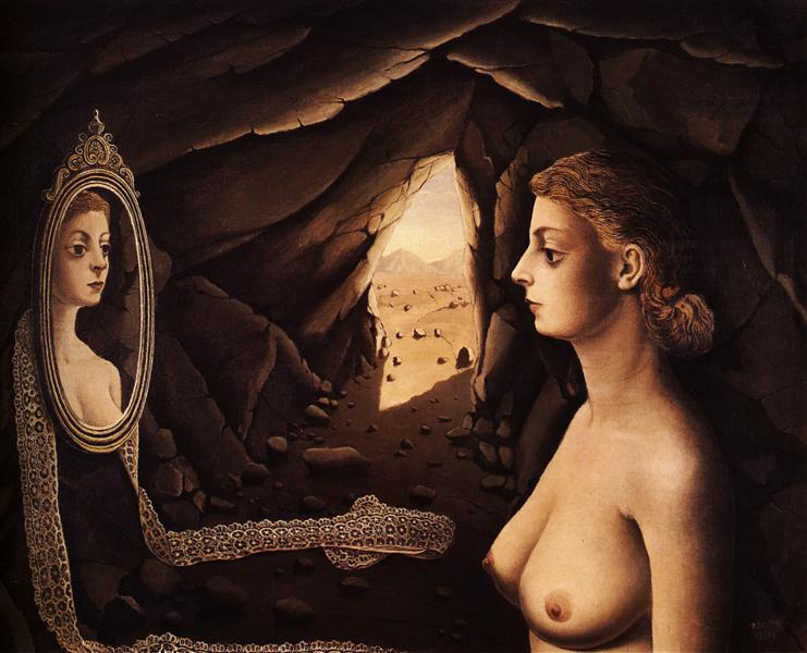 Woman in a Cave, 1936 - Paul Delvaux