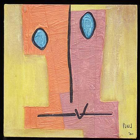 Bemused Portrait, 2000 - Paul du Toit
