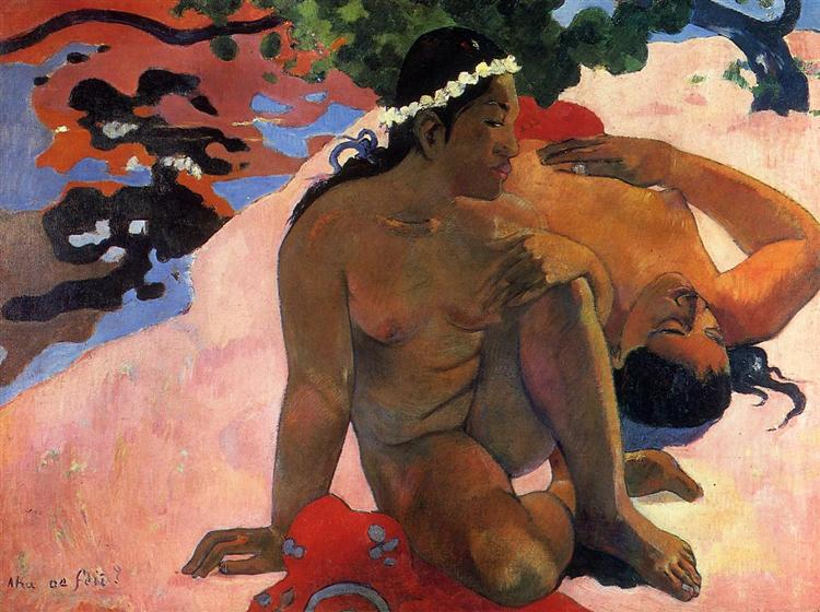 Are You Jealous? - Paul Gauguin