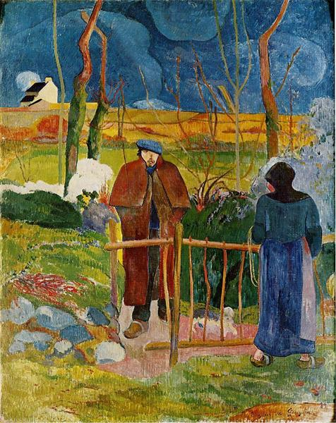 Bonjour, Monsieur Gauguin, 1889 - Paul Gauguin