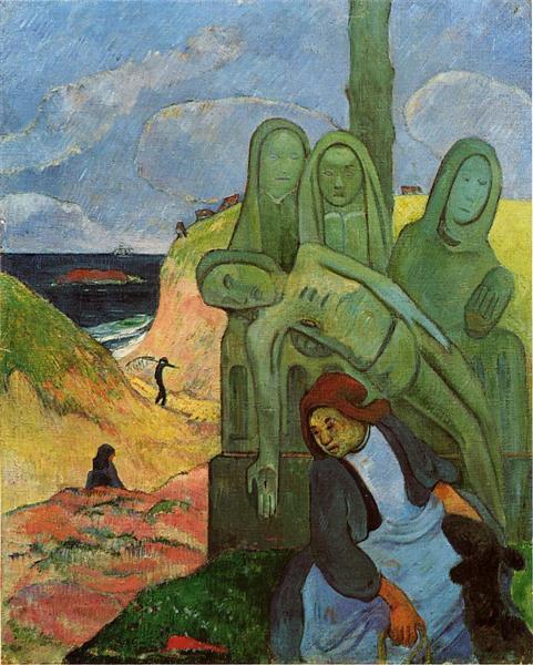 Calvaire breton, 1889 - Paul Gauguin