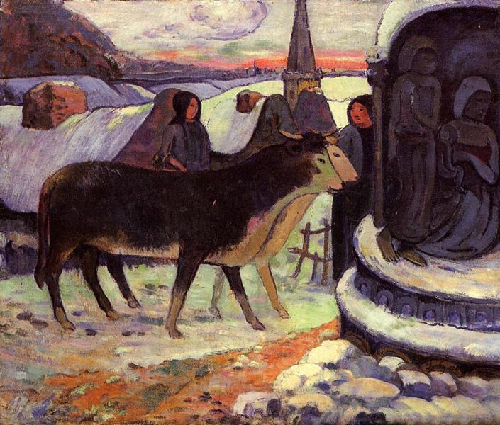 Christmas night, 1894 - Paul Gauguin