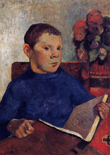 Clovis, 1886 - Paul Gauguin