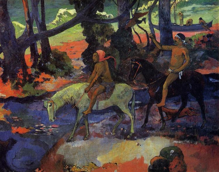 Flight, 1901 - Paul Gauguin