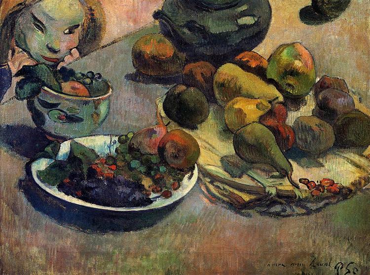 Fruits, 1888 - Paul Gauguin