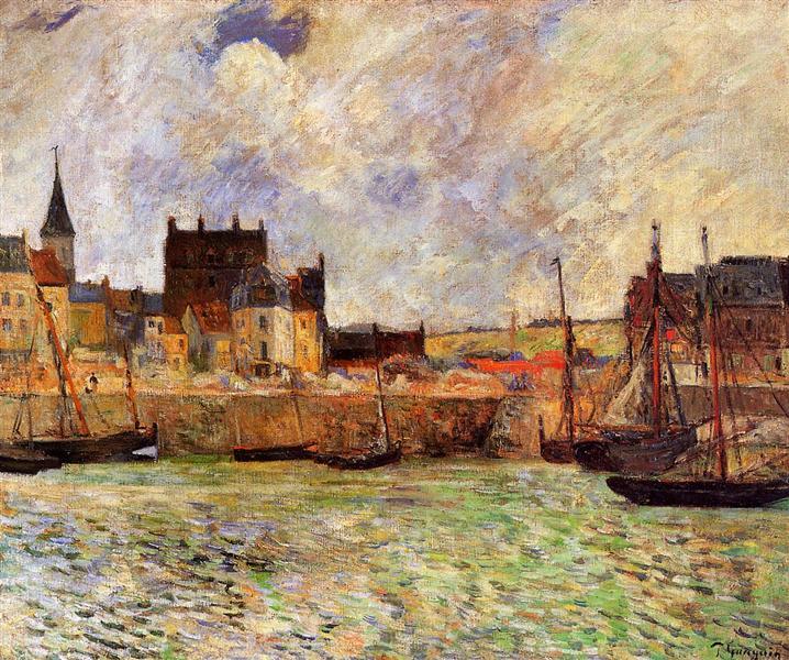 Harbour Scene, Dieppe, c.1883 - Paul Gauguin