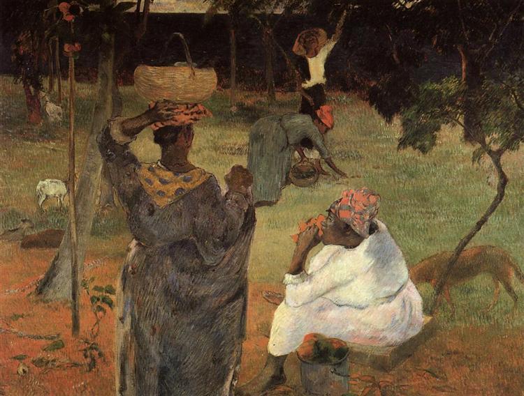 Mango pickers (Martinique), 1887 - Paul Gauguin