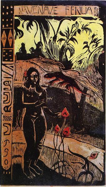 Noa Noa Suite: Delightful Land, c.1893 - Paul Gauguin